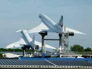 Concorde and TU-144 at Sinsheim Museum
