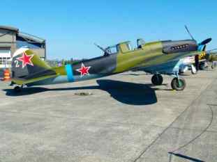 Ilyushin Il-2 Shturmovik at the Flying Heritage Collection
