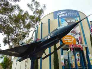 Convair YF2Y-1 Sea Dart at San Diego Air and Space Museum