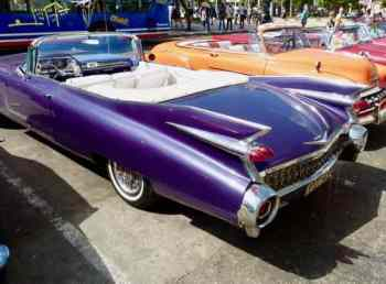1959 Cadillac convertible, Havana