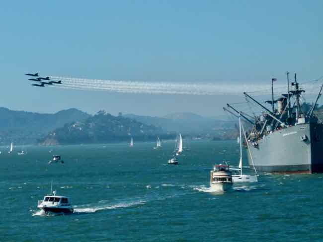 Blue Angels and the SS Jeremiah O'Brien