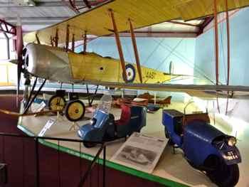 Avro 504J (replica) - Solent Sky Museum