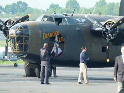 B-24 at Manassas Regional Airport