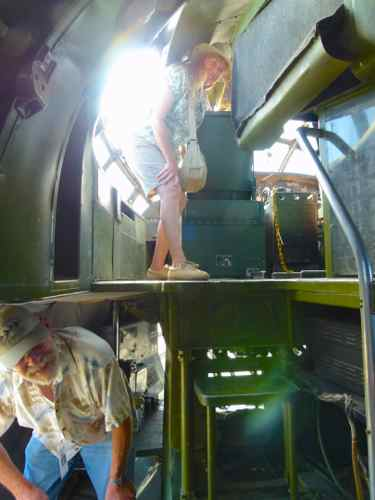 Flight deck B-36