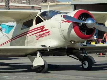 Beech D17S - Staggerwing