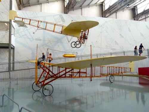 Bleriot and São Paulo replicas
