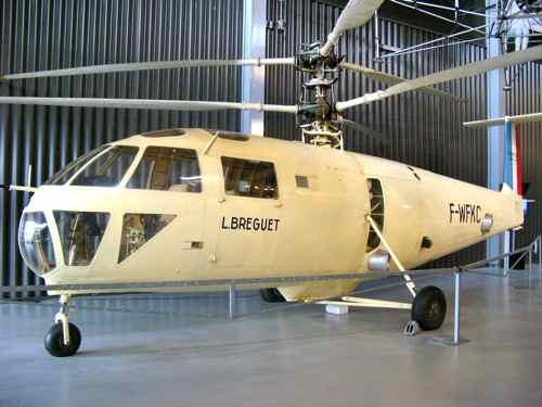 Breguet G III Gyroplane BRE III