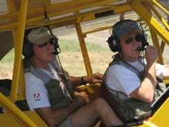 Brian and Jack fly together out of Tucumcari