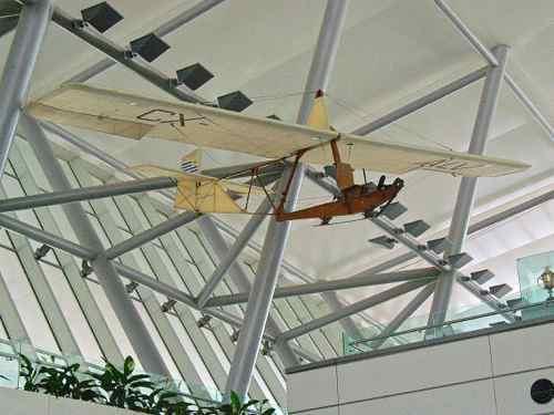 Glider in Montevideo Airport Uruguay
