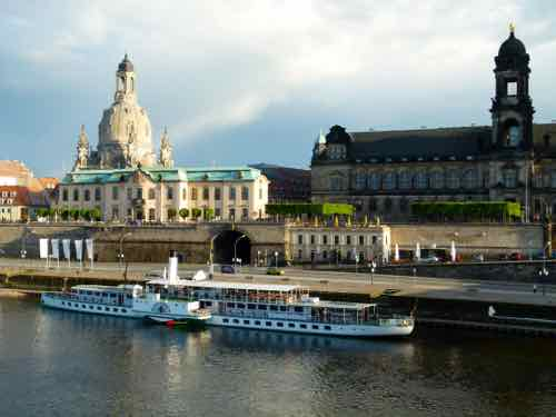 Dresden Steamboats on the Elbe