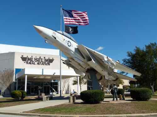 Entrance Naval Aviation Museum