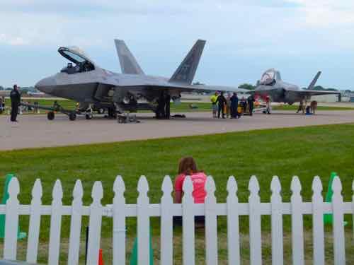 F-22 Raptor and F-35 Lightning II