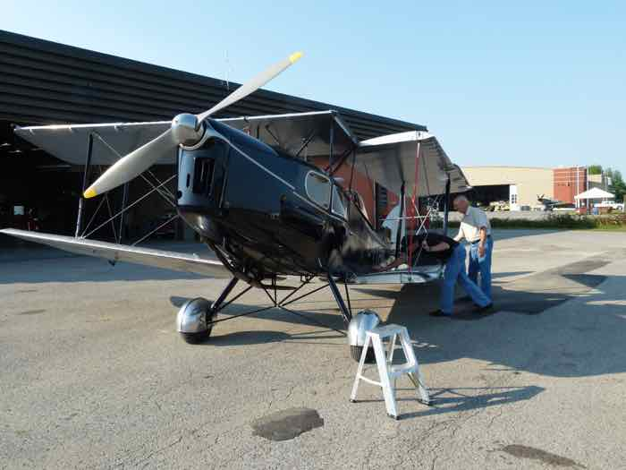de Havilland DH-83 Fox Moth