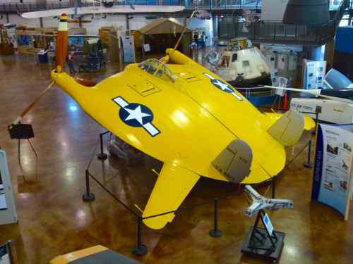 "Chance Vought V-173 ""Flying Pancake"""