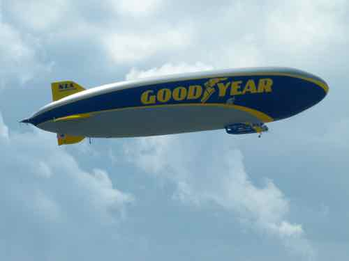 Goodyear (ZLT) semi-rigid airship N1A