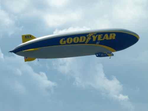 Goodyear (ZLT) semi-rigid airship N1A