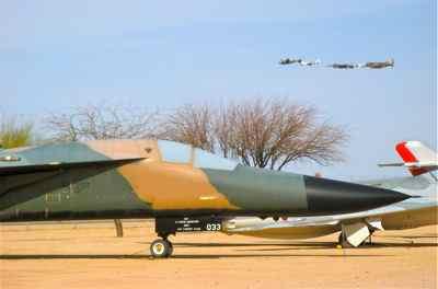 Heritage Flight and General Dynamics F-111E Aardvark