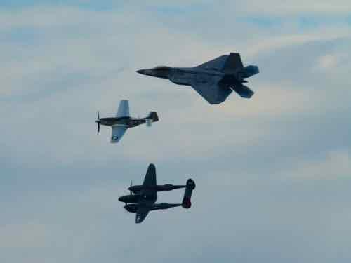 Heritage Flight Oshkosh 2015