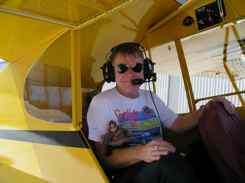 Jack the CubGuy in the J-3 Cub