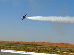 Jacquie Warda Aerobatics at Al Ain Airshow