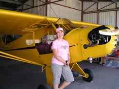 Ladies fly J-3 Cubs too