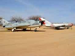 MiG-19PF  (L);  MiG-15Bis Fagot (R) - MiG Alley even here?