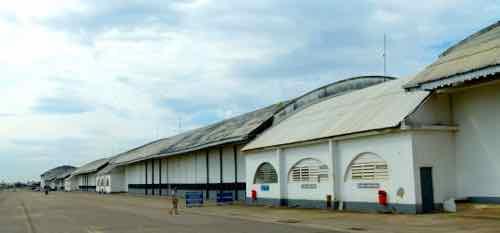 Hangars at Museu Aeroespacial, Rio de Janeiro