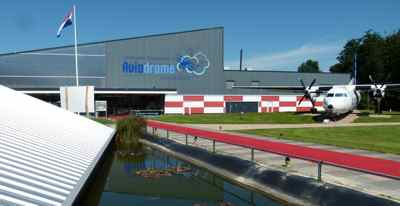 Entrance to Aviodrome at Lelystad Netherland