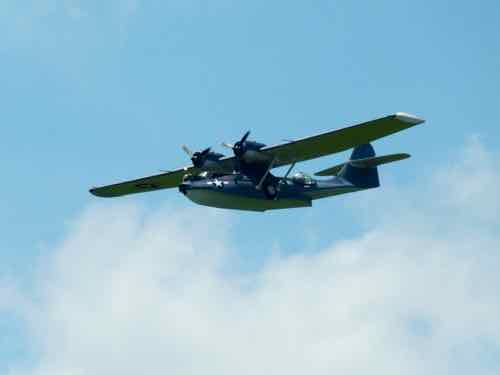 PBY 5A Catalina in flight