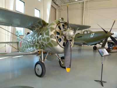 Polikarpov I-153 and Bell P-63 King-Cobra