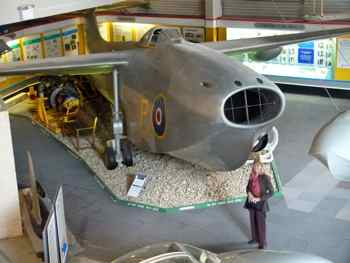 Saunders-Roe SR.A/1 - Solent Sky Museum