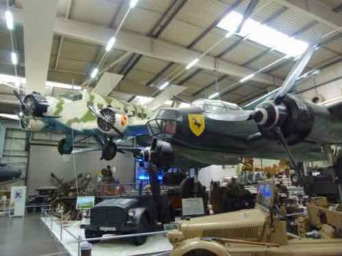 Sinsheim Museum: CASA C352L and Ju-88A-4