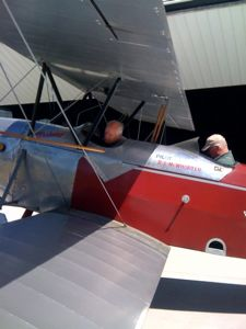 1928 Stearman C3B ready for flight at WAAAM