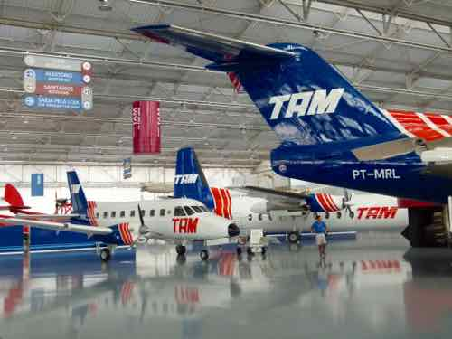 TAM Early Airline Fleet