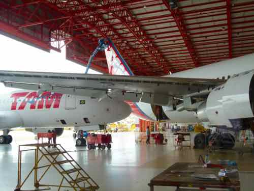 TAM Maintenance Hangar