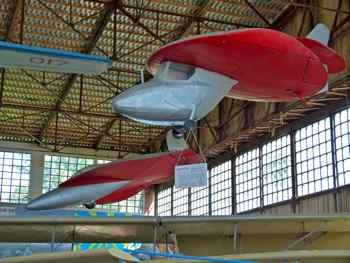 Two Disc Planes or Sukhanov Diskoplan 1 (and 2?) at Monino