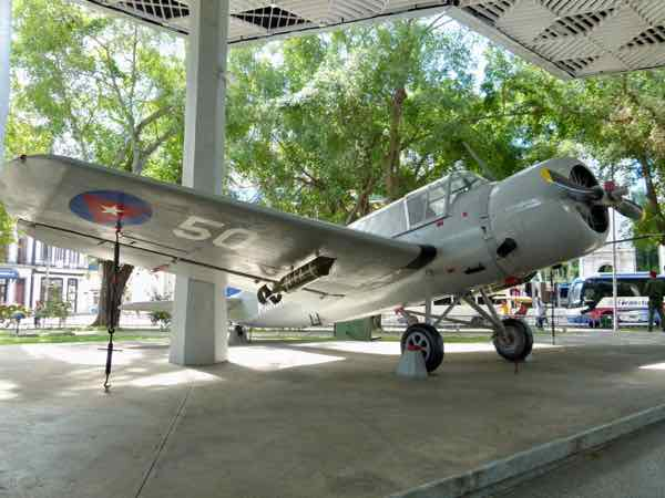 Vought OS2U Kingfisher Museum of the Revolution, Havana Cuba