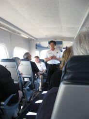 Briefing onboard the Zeppelin Eureka