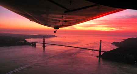 Airship Ventures photo of Zeppelin Eureka over the Golden Gate