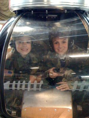 Kids Love Antique Airplanes