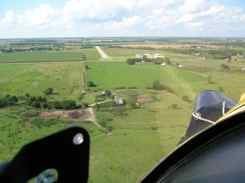 Approach to Belleville Airport, Kansas
