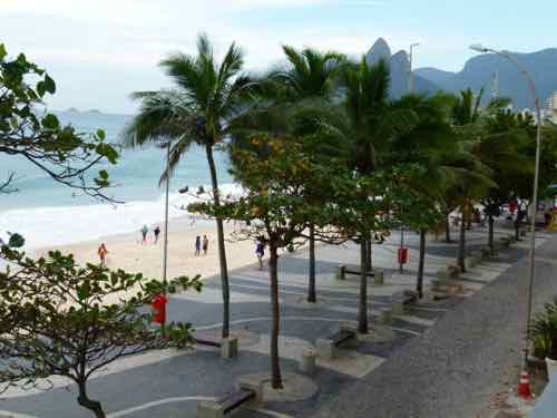 Ipanema Beach, Rio de Janiero