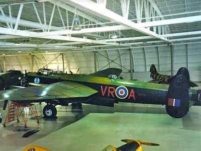 Avro Lancaster WWII bomber