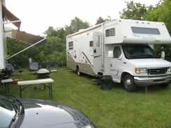 Our Cubguy camping compound in Oshkosh