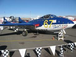 Vintage Jets at the Reno Air Races