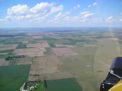 Cub to Oshkosh Aerial photos - Belleville Kansas farmland