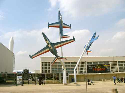 Le Bourget, France  - Air and Space Museum