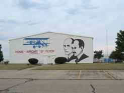 "Wright ""B"" Flyer's Hangar and Museum on Dayton-Wright Brothers Airport"