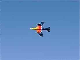 Hawker Hunter - Miss Demeanour at Al Ain Airshow