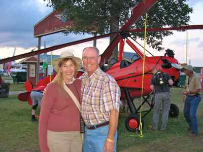 In Oshkosh AirVenture with the Pitcairn AutoGyro